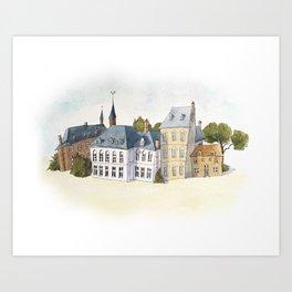 Old Town Art Print