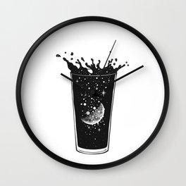 A Moon Slice Wall Clock