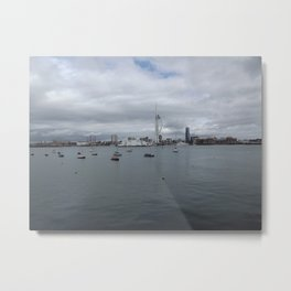Spinnaker Tower, Portsmouth UK Metal Print