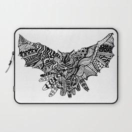 Dragon Owl (BW) Laptop Sleeve