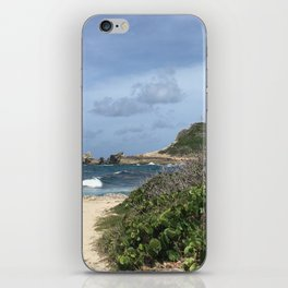 Pointe des Chateaux iPhone Skin