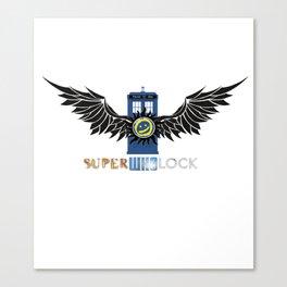 SuperWhoLock  Canvas Print