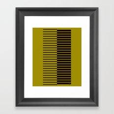 Quagga Zebra Plays Piano Framed Art Print