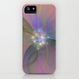 Fairy Blossom Fractal iPhone Case