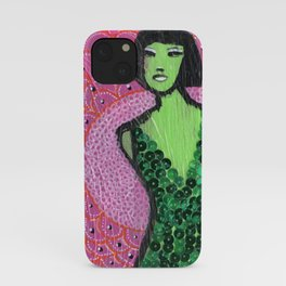 """""""Shocked in Pink"""" by Herta iPhone Case"""