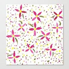 Petals and Joy Canvas Print