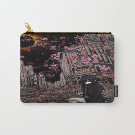 samurai sailoroutfit under neo tokyo eclipse... by rmd Carry-All Pouch