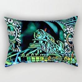 Runaway Train - Graphic 1 Rectangular Pillow