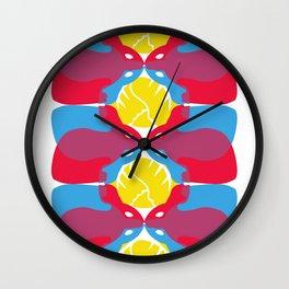 Rabbits Wall Clock