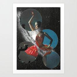 Skydancer Art Print