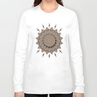 southwest Long Sleeve T-shirts featuring Southwest Art Mandala by DebS Digs Photo Art