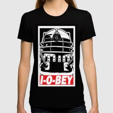 I-O-BEY '74 MEDIUM Womens Fitted Tee Black