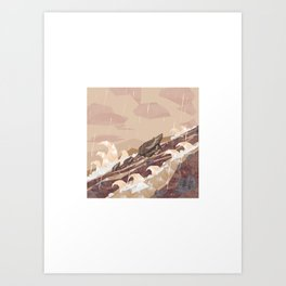 Shelter - River Art Print