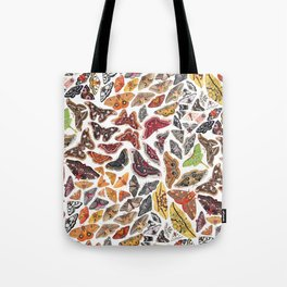 Saturniid Moths of North America Pattern Tote Bag