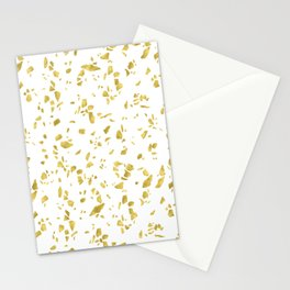 Holiday Terrazzo Style Stationery Cards
