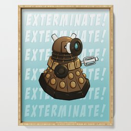Exterminate! Serving Tray