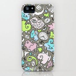 PLAYTIME_D iPhone Case