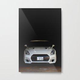 Nissan Nismo Skyline R35 Metal Print