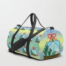 Cactus Terrarium Christmas Gift Duffle Bag