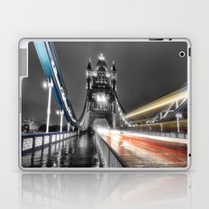 Tower Bridge at night Laptop & iPad Skin