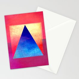 Triangle Composition VIII Stationery Cards