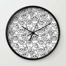 Oh Rottweiler Wall Clock