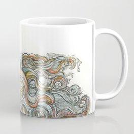 """Little Mermaid"" - by Fanitsa Petrou Coffee Mug"