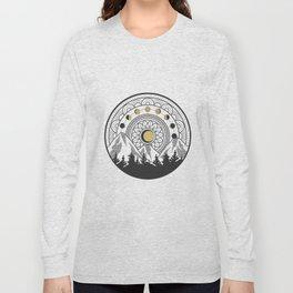 Moon Forest Long Sleeve T-shirt