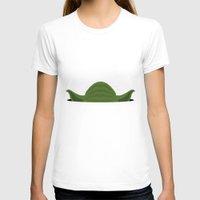 yoda T-shirts featuring Yoda by Mr. Peruca