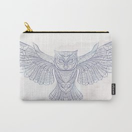 Ethnic Owl Carry-All Pouch