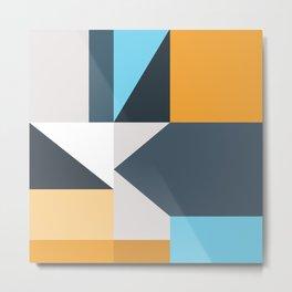 Modern Geometric 61 Metal Print