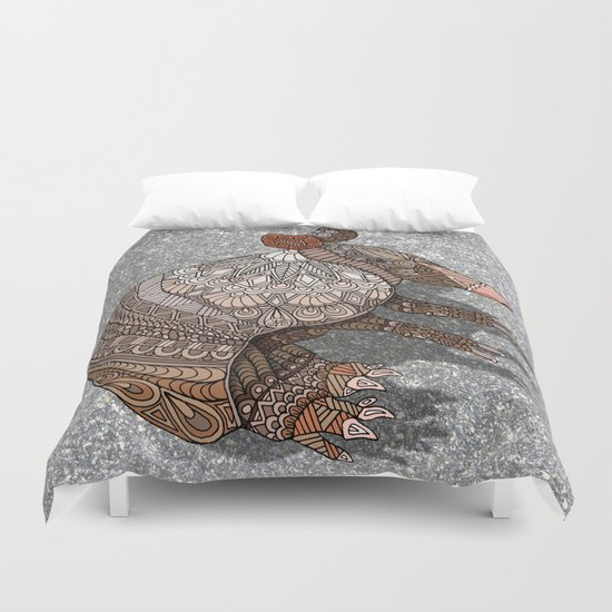Ornate Armadillo Duvet Cover