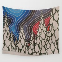 aurora Wall Tapestries featuring Aurora by The art of Summer Breeze