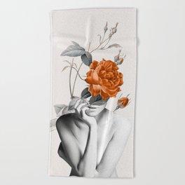 Rose 3 Beach Towel