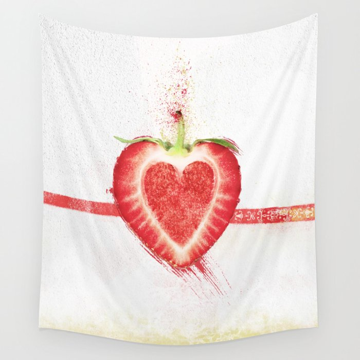 Stawberry Wall Tapestry