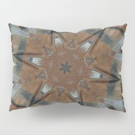 Tee Pee Bird Totem Mandala Kaleidoscope Pillow Sham