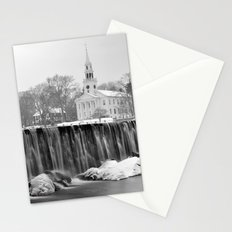 Milford Town in Winter Stationery Cards