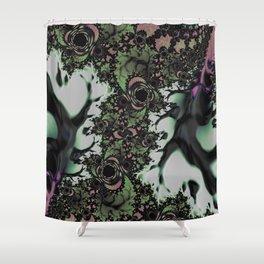 Night Rose Garden Shower Curtain
