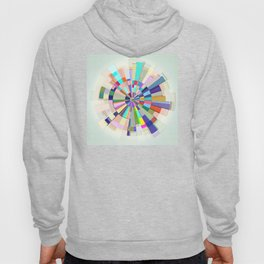 Abstract Color Wheel Hoody