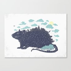 City Rat Canvas Print