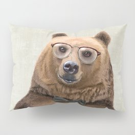Mr Bear Pillow Sham