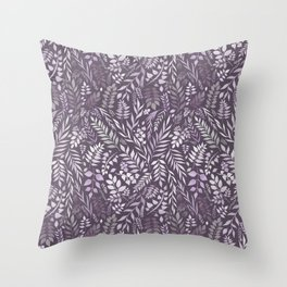 Lavender (Essential Oil Collection) Throw Pillow