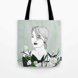 HK girl Tote Bag