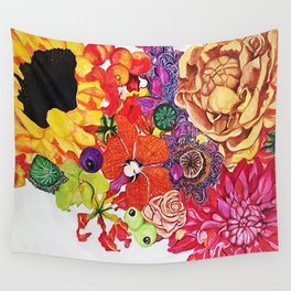 Blooms 1 Wall Tapestry