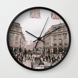 London, from the bus Wall Clock