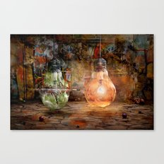 Quickly shot Canvas Print