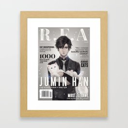 [RFA Cover] Jumin Han Framed Art Print