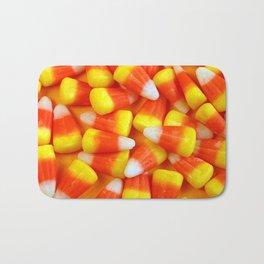 Halloween candy corn Bath Mat