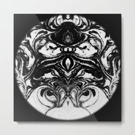 tracing circles in the dark Metal Print