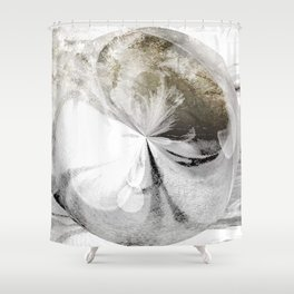Breath of frost Shower Curtain